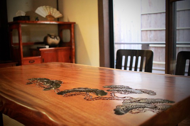 Chabudai - Japanese (low to the ground) table