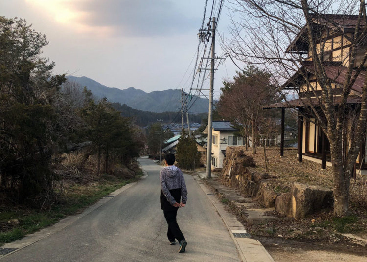 Exploring near our accommodation in Takayama